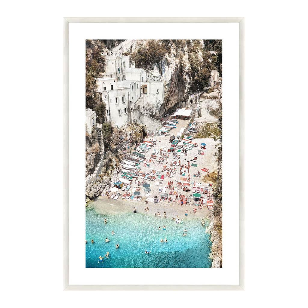 Wall Art - Blue Water, White Sands Print - 80x120cm