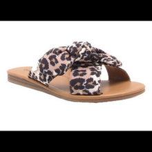 Load image into Gallery viewer, Bow Sandals-Leopard