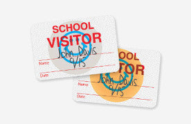TEMPbadge™ Visitor Management expiring badges for schools and school visitor management software