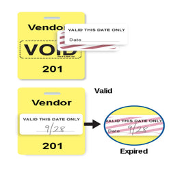 Reusable VOIDbadge Yellow 201-300