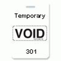 Reusable VOIDbadge White 301-400