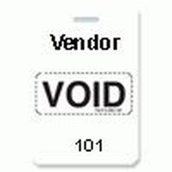 Reusable VOIDbadge White 101-200