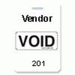 Reusable VOIDbadge White 201-300