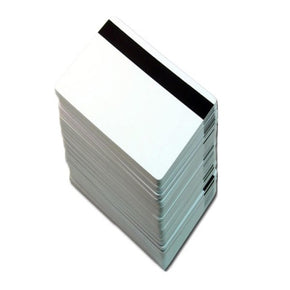 "80/20 Composite ID Card with 5/16"" LOCO Magnetic Stripe (CR80-Credit Card Size, 2.13"" x 3.38"") - IDenticard.com"