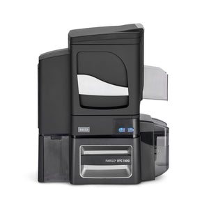 Fargo DTC1500 Dual-Sided Card Printer with Lamination and Contact Smart Card Encoder (Omnikey Cardman 5121) - IDenticard.com