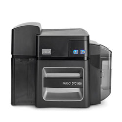 Fargo DTC1500 Dual-Sided Card Printer with Magnetic Stripe Encoder - IDenticard.com