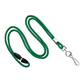 "Round 1/8"" Lanyards with Breakaway"