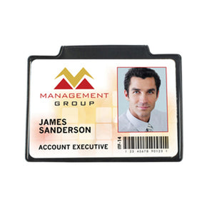 "Government Size Magnetic Badge Holder (3-7-8"" x 2-5/8"")"