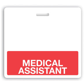 MEDICAL ASSISTANT Teslin Badge Buddy - IDenticard.com