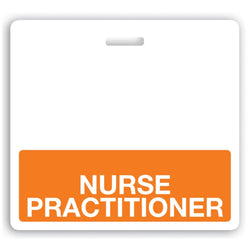 NURSE PRACTITIONER Teslin Badge Buddy - IDenticard.com
