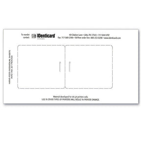 "Dual-Core JetPak™ ID Card with vertical slot (Data Collection Size, 2.313"" x 3.25"") - IDenticard.com"