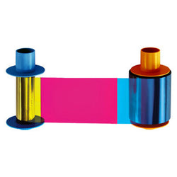 ECO YMCFKO Printer Refill Ribbon (Fargo DTC4500 & DTC4500e, 500 Imprints) - IDenticard.com