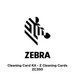Cleaning Card Kit (Zebra ZC Series, 2 Cards) - IDenticard.com