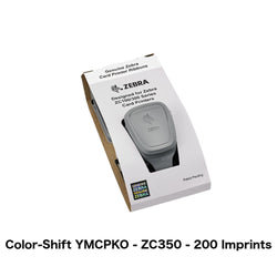 YMCPKO Color-Shifting Printer Ribbon (Zebra ZC350, 200 Imprints) - IDenticard.com