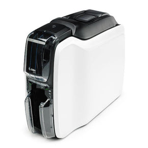 Zebra ZC100 Single-Sided ID Card Printer with Ethernet, WiFi & Mag Encoder - IDenticard.com
