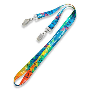 Test Custom Lanyards - Double Ended - IDenticard.com