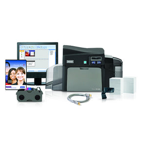 Fargo DTC4250e Single-Sided Card Printer Kit (AsureID® Express) - IDenticard.com