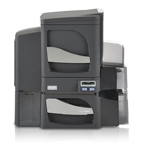Fargo DTC4500e Dual-Sided Card Printer with Dual-Sided Lamination and Mag Encoder - IDenticard.com
