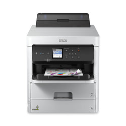 Epson® WorkForce® Pro WF-C5210 Inkjet Printer - IDenticard.com