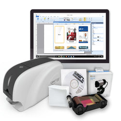SMART 31S Single-Sided ID Card Printer Bundle - IDenticard.com