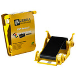 Metallic Silver ix Series Printer Ribbon (Zebra ZXP Series 3) - IDenticard.com