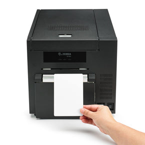 Zebra ZC10L Large-Format Card Printer - IDenticard.com