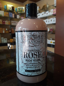Charcoal Rose body wash