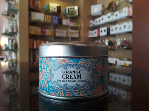 Orange Cream travel candle