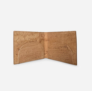 Maskbox Cork Wallet- Safety Mask Case + Wallet, 100% eco friendly