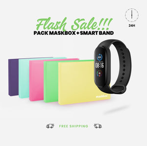 PACK MASKBOX + SMART BAND M5