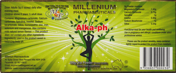 Millenium Alka-ph Powder