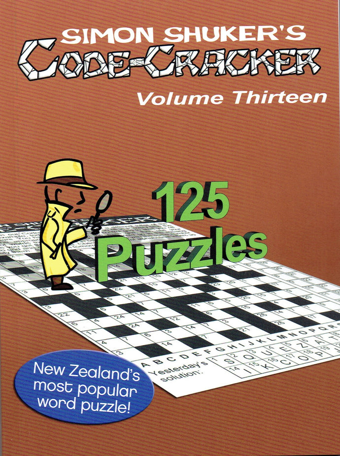 NEW Simon Shuker Code Cracker: VOLUME 13 out now!!