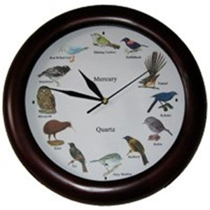 New Zealand Bird Song Clock