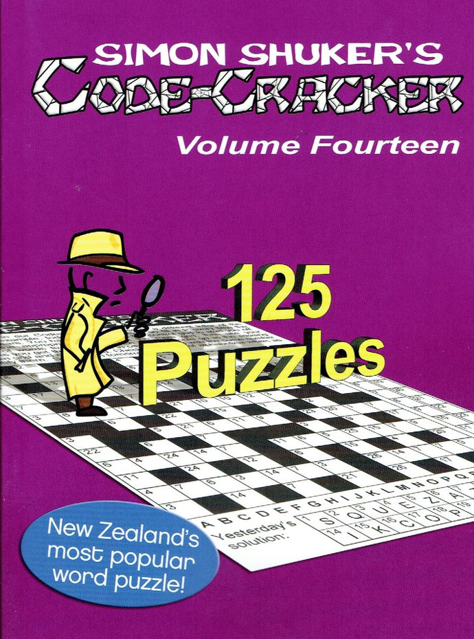 NEW Simon Shuker Code Cracker - Volume 14 due out soon