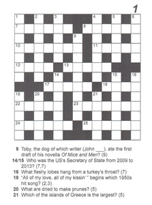 ALAN SHUKER'S QUIZ WORDS- 60 Challenging Crosswords