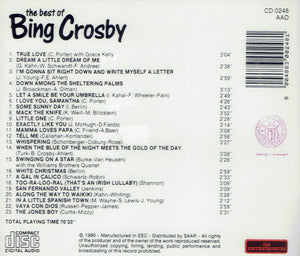 the best of BING CROSBY (CD)