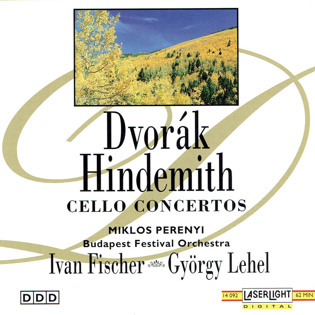 Dvořák Hindemith Cello Concertos (CD)