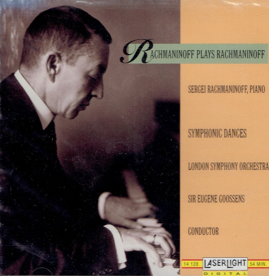 Rachmaninoff Plays Rachmaninoff