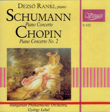 Dezső Ránki, piano - SCHUMANN and CHOPIN Piano Concerto