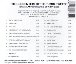 Golden Years Of The Tumbleweeds  (CD)