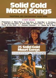 25 Solid Gold Māori Songs (CD with sheet music folio)