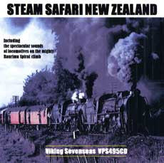Steam Safari New Zealand (CD)
