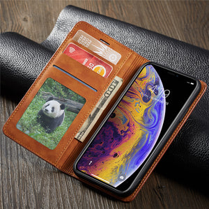 Leather Case For iPhones.