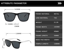 Load image into Gallery viewer, Unisex Retro Aluminum TR90 Sunglasses.