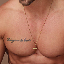 Load image into Gallery viewer, Stainless Steel Classic Cross Necklace.