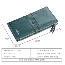 Load image into Gallery viewer, Engrave Leather Long Fashion Wallet.