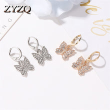 Load image into Gallery viewer, Women Cute Butterfly Earring.