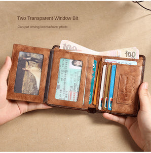 ManBang Genuine Leather Wallet.