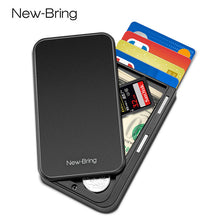 Load image into Gallery viewer, Fiber Minimalist Card Holder Wallet.