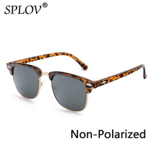 Load image into Gallery viewer, Semi Rimless Polarized Sunglasses.